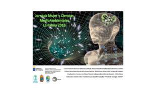 Afiche Jornada Mujer y Ciencia La Palma 2018F (1)
